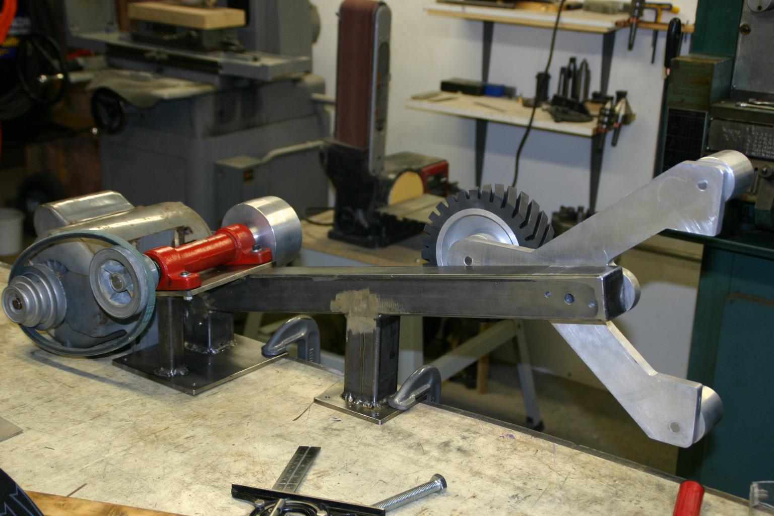 Struts And Shocks >> DIY 2x72 Sander/Grinder - Grinders, Sanders, etc - I Forge ...