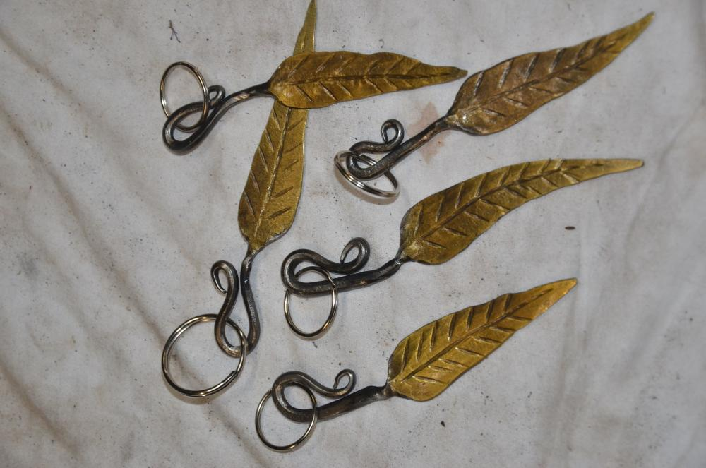 gum leaf key rings.JPG