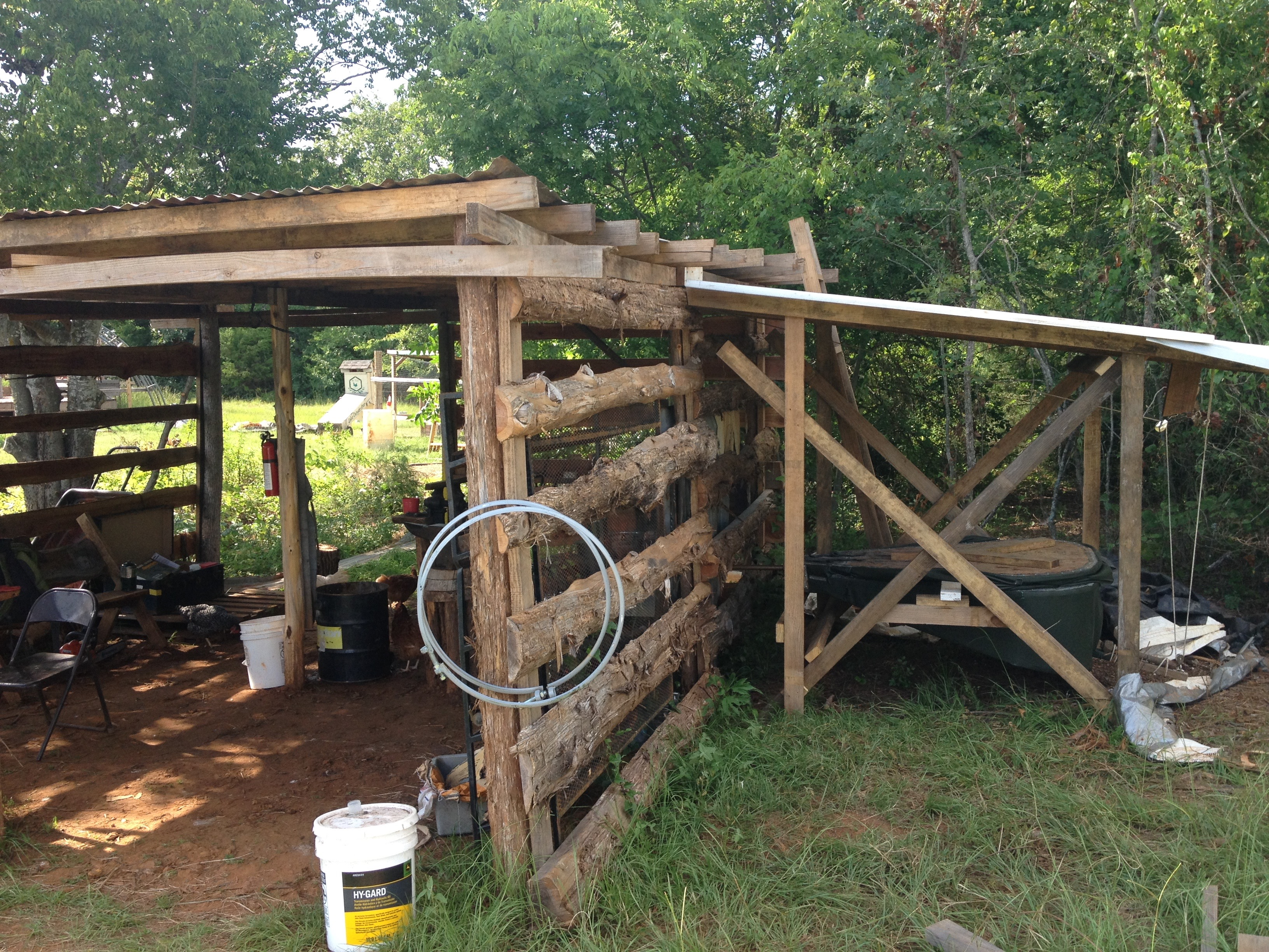 Off Grid Blacksmith Shop Near Tyler Texas Events Hammer