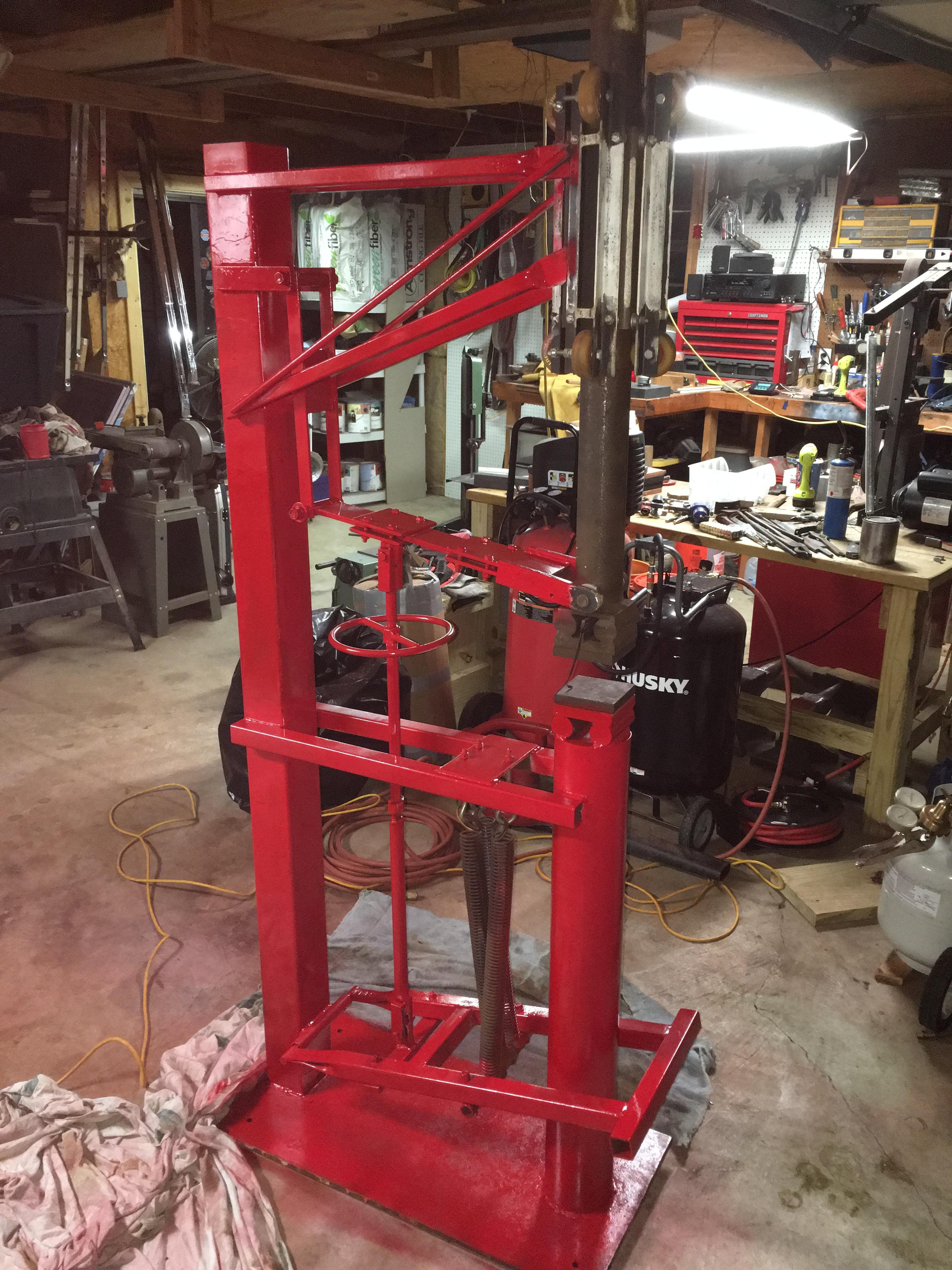 Treadle hammer kit