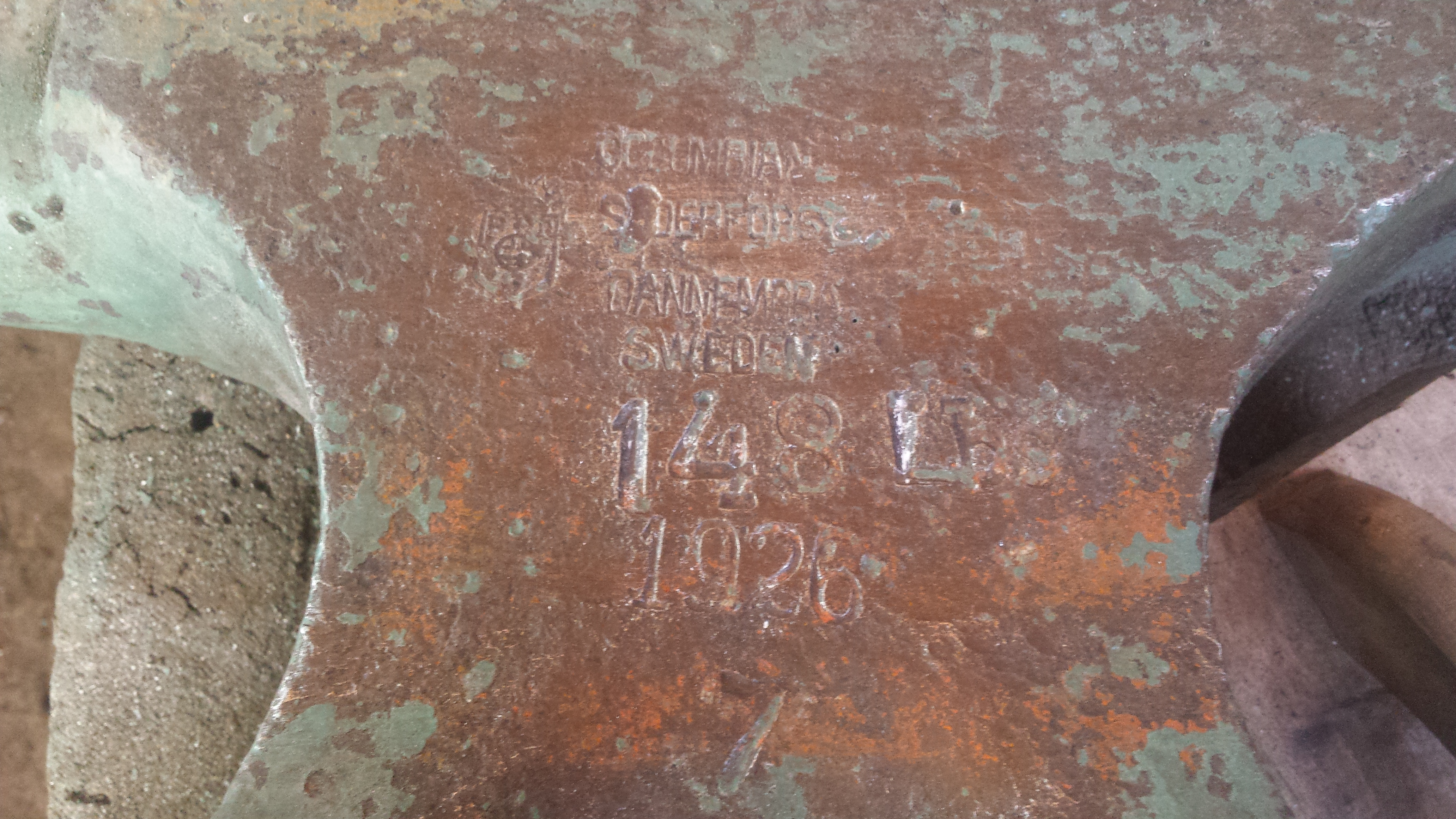 Soderfor FORGED steel anvil or not? - Anvils, Swage Blocks, and