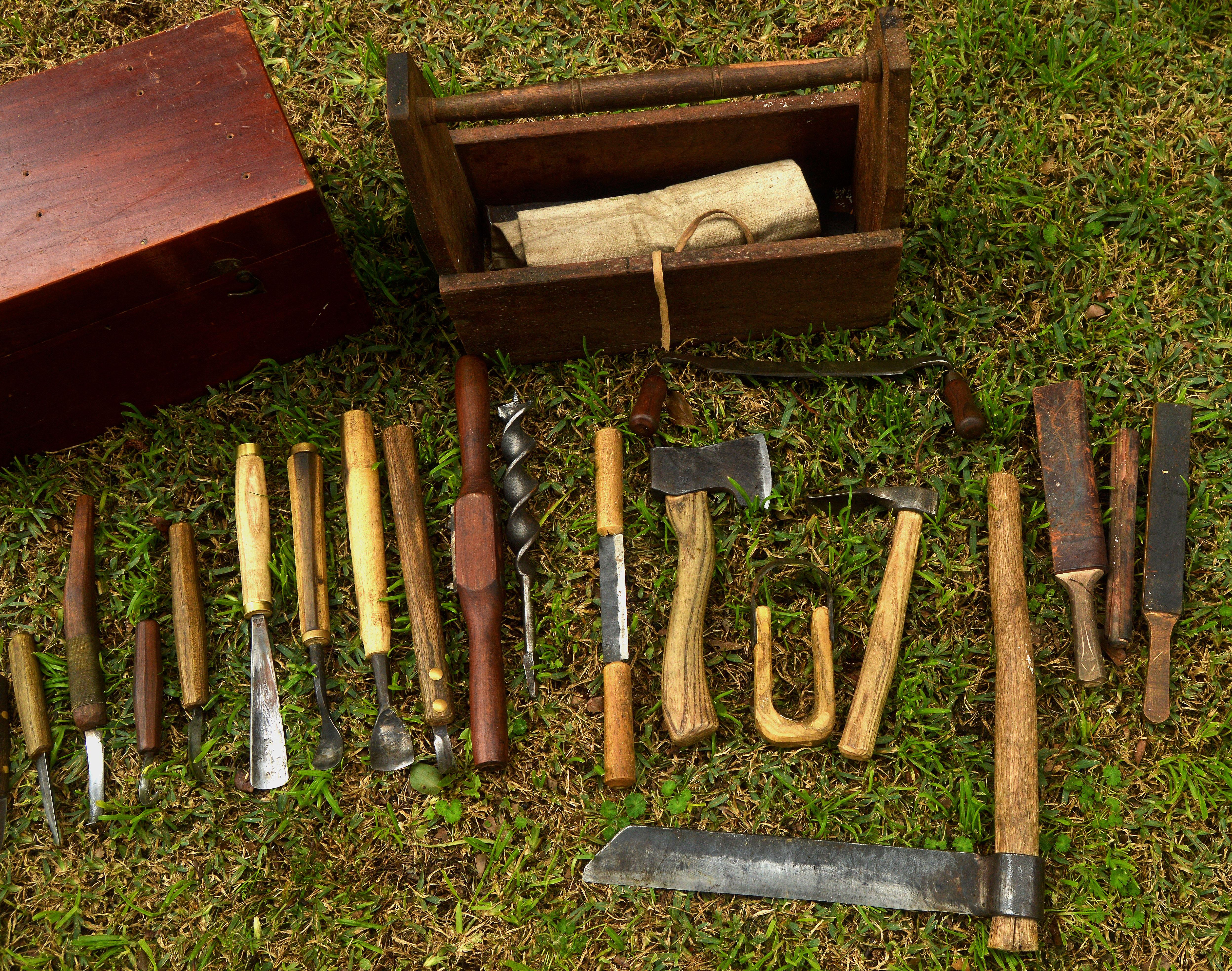 Green Woodworking Tools Chisels Gouges Scissors Etc I