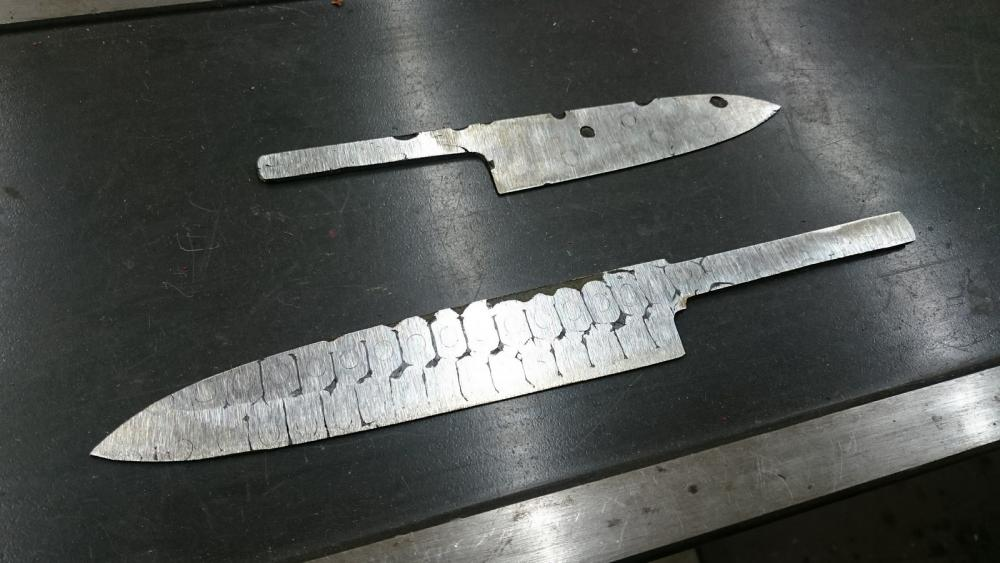 bicycle chain kitchen knife - Knife Making - I Forge Iron