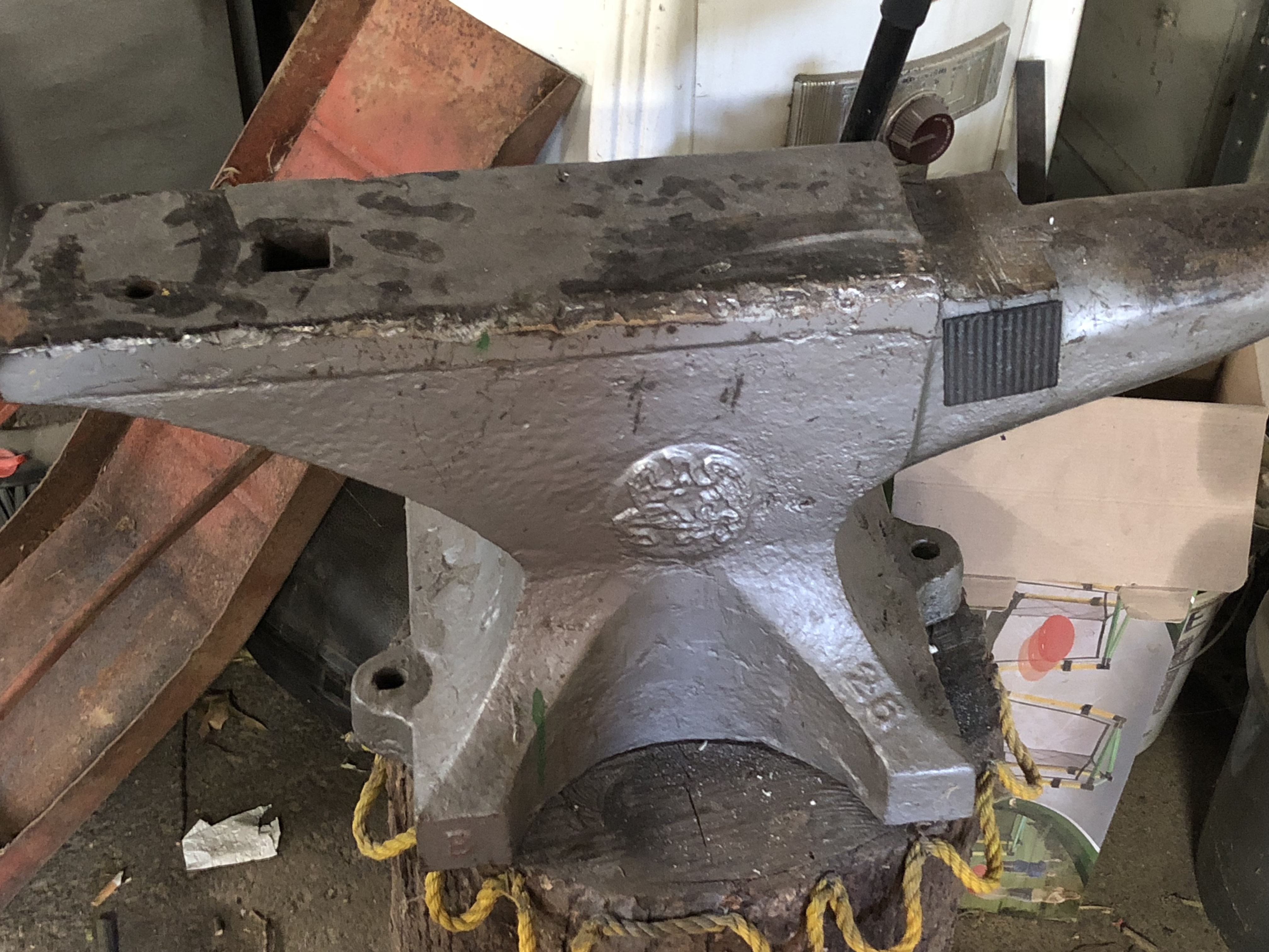 1936 Fisher 250 Lbs Anvil Anvils Swage Blocks And Mandrels I