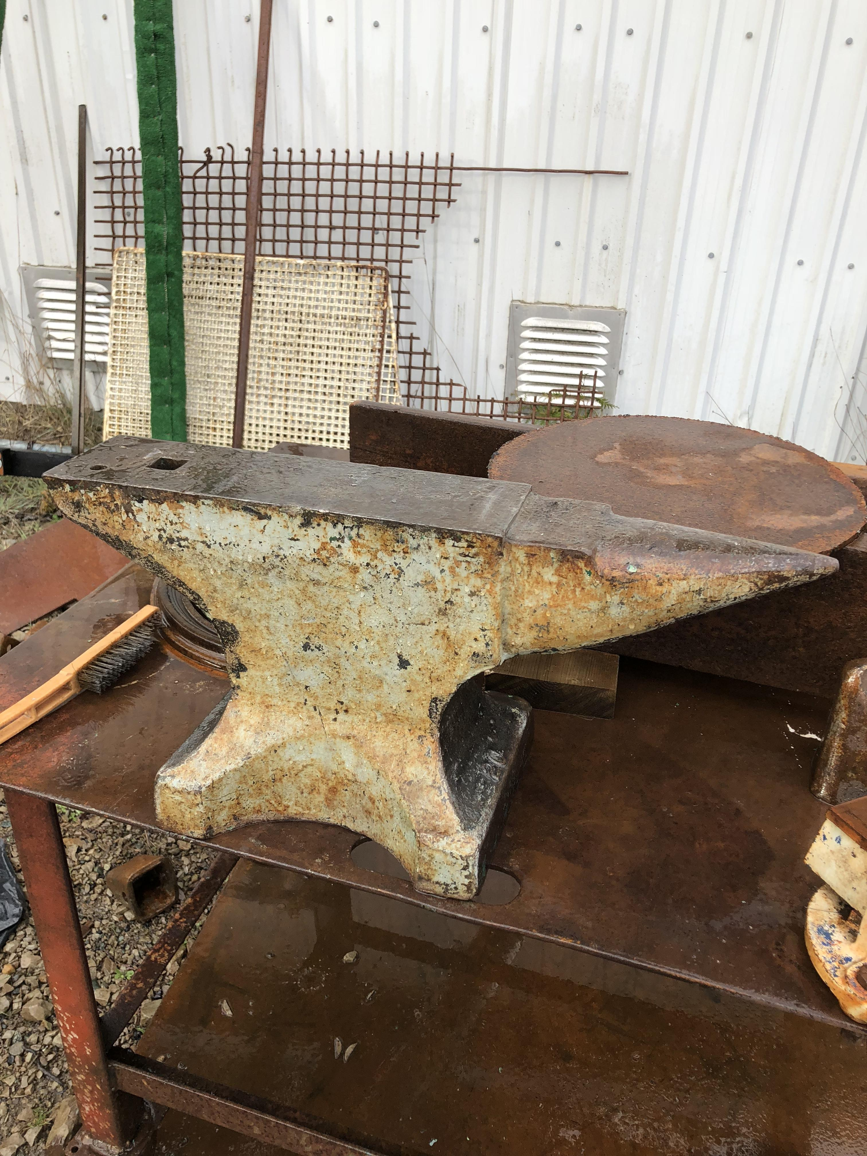 Yet another anvil identification - Anvils, Swage Blocks, and