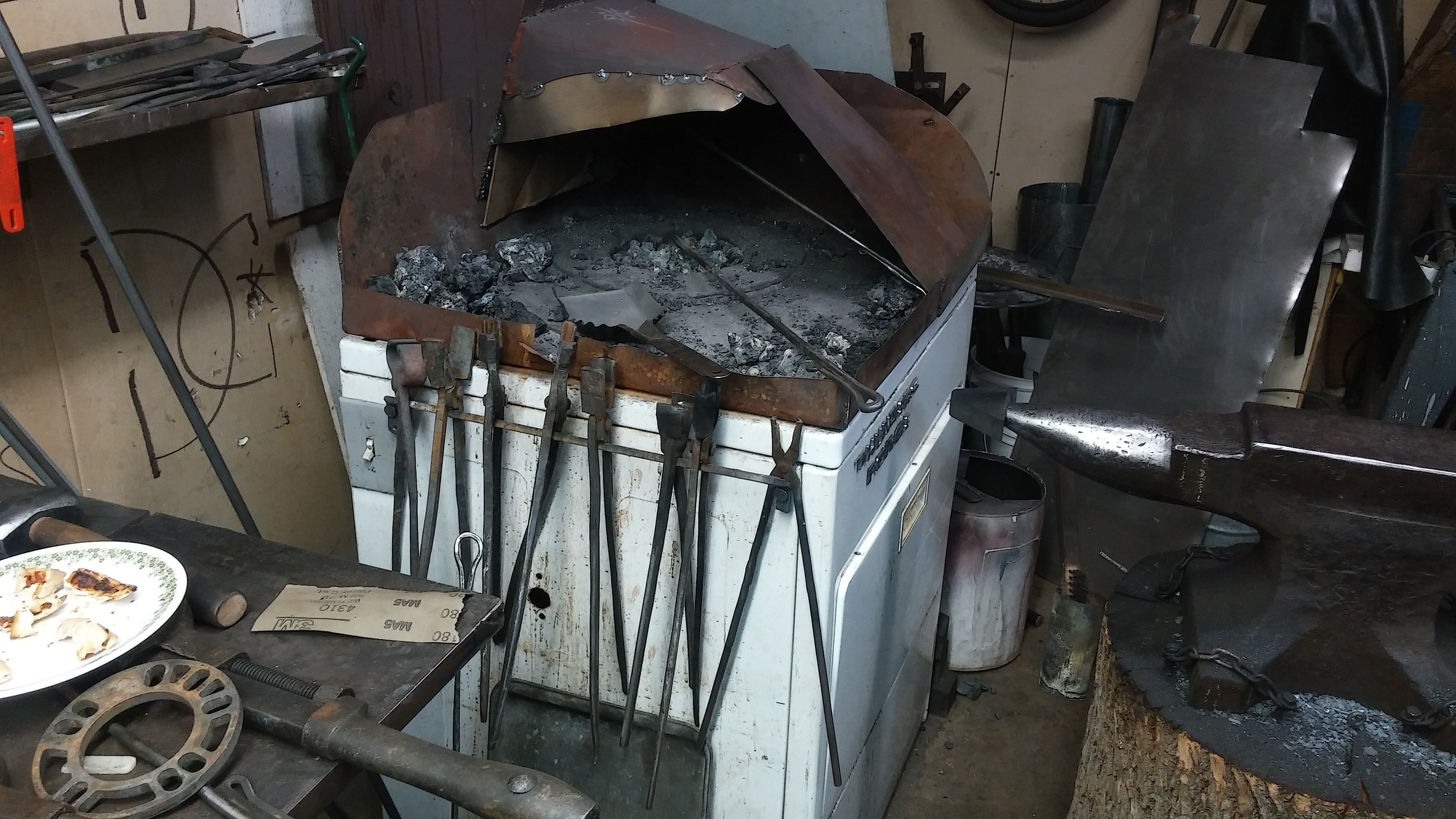 What s YOUR forge made of Solid Fuel Forges I Forge Iron
