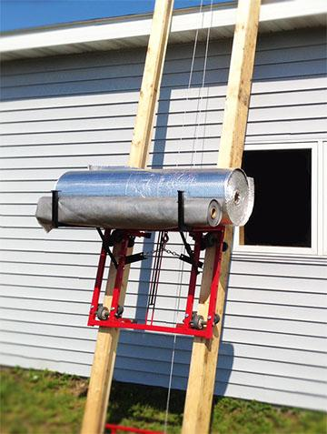 ladder lift hoist shingle lift homemade