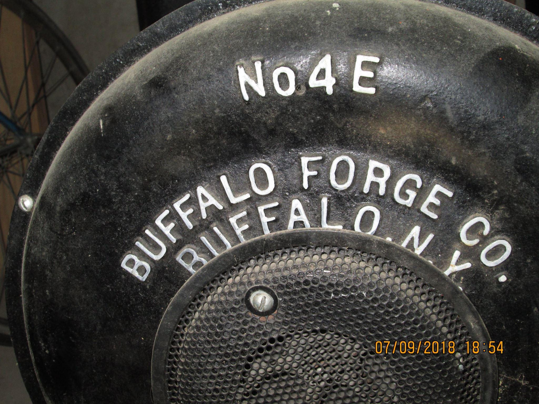Buffalo NO4E what do I have - Bellows, Blowers - I Forge Iron