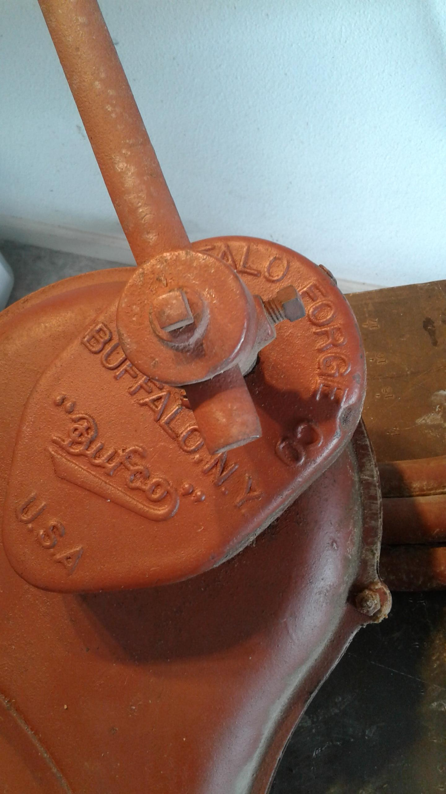 Another Bufco overhaul - Bellows, Blowers - I Forge Iron