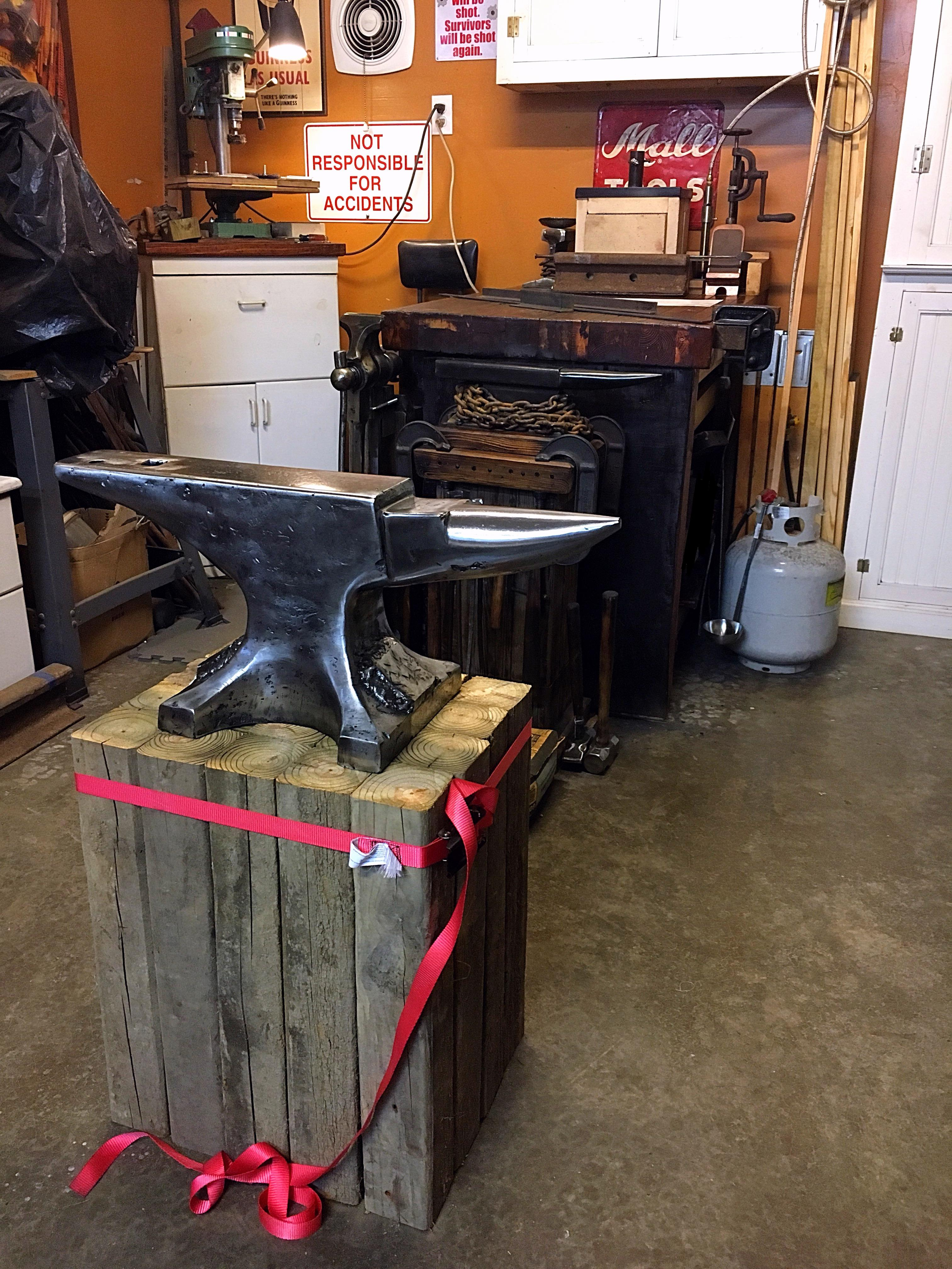 Show me your anvil stands - Page 22 - Anvils, Swage Blocks, and